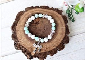 gemstone green bracelet