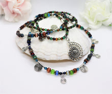 Load image into Gallery viewer, crystal beaded necklace