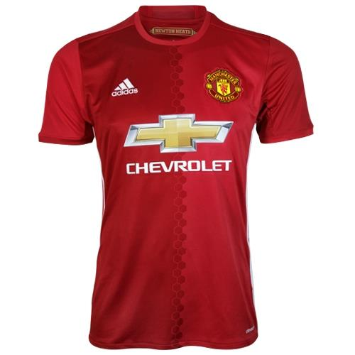 Adidas Manchester United Replica Home Jersey 16/17 | Macey's Sports