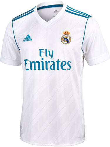 Adidas Real Madrid Home Jersey 17/18 | Macey's Sports