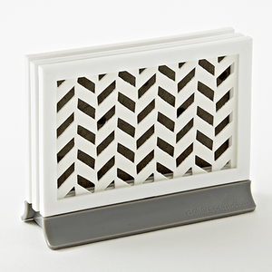 Padded Décor Diffuser - Chevron Gray