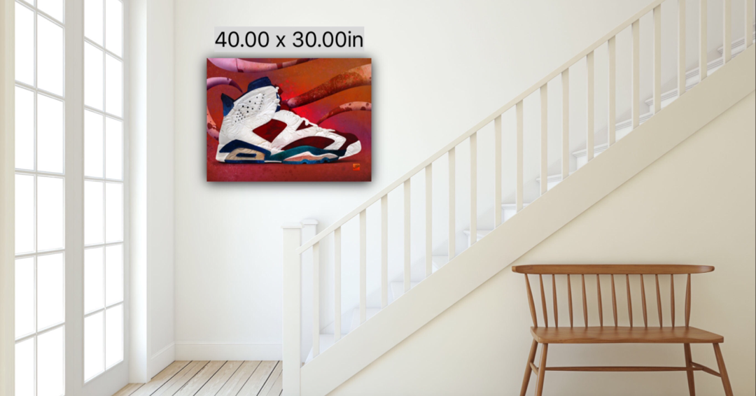 JP Painting Digital Canvas Print (J6)
