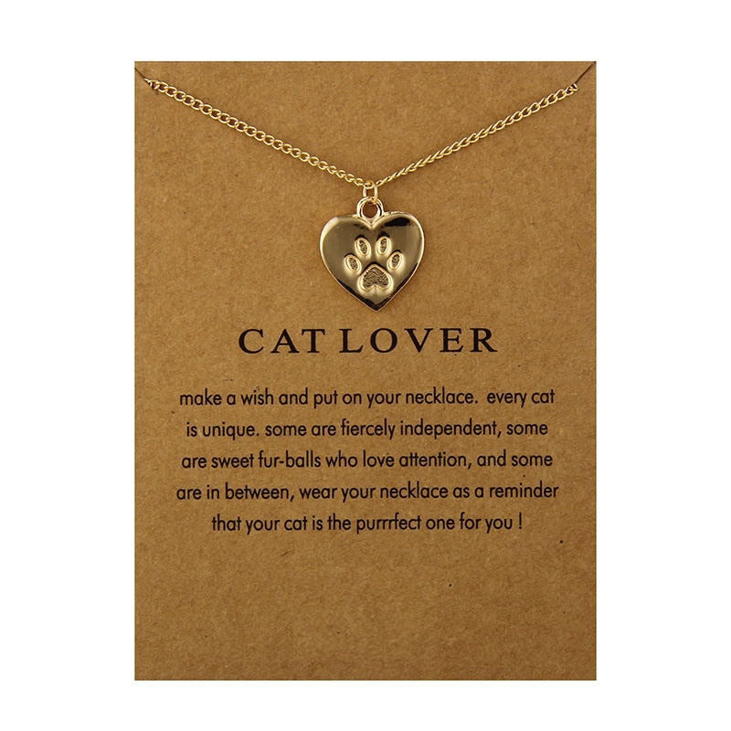 Cat Lover Wish Necklace