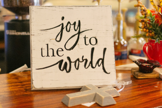 Joy to the World Wall Sign