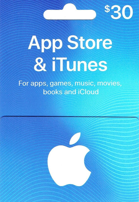 Apple $30 Gift Card