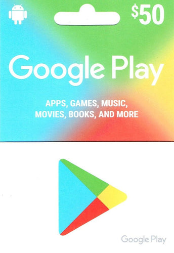Google Play $50 Gift Card