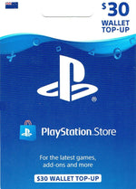 Playstation Store $30 Top Up
