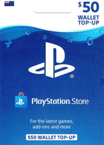 Playstation Store $50 Top Up
