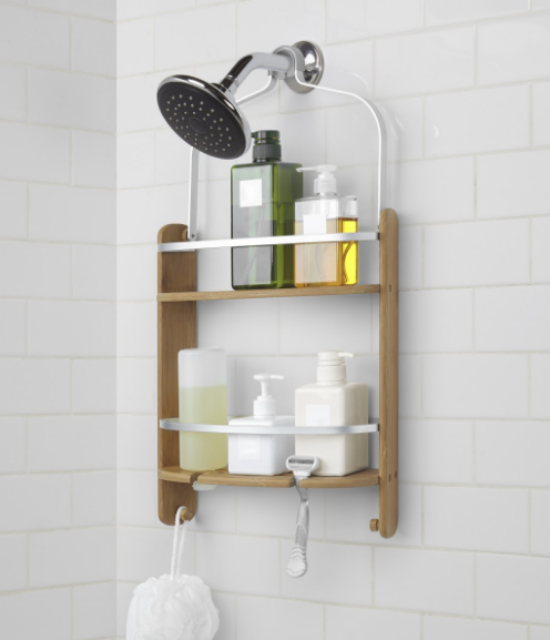 Barrel Shower Caddy Natural by Umbra