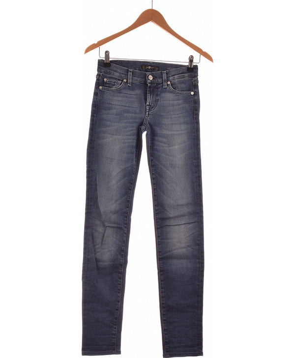 259795 Jeans 7 FOR ALL MANKIND Occasion Once Again Friperie en ligne