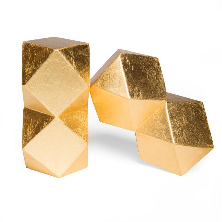 SWANSON BOOKENDS (GOLD)