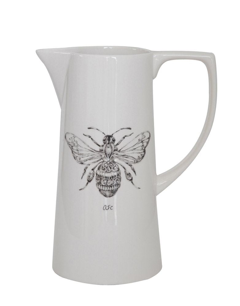 Ceramic Bee Pitcher