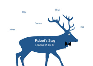 STAG with BOW TIE