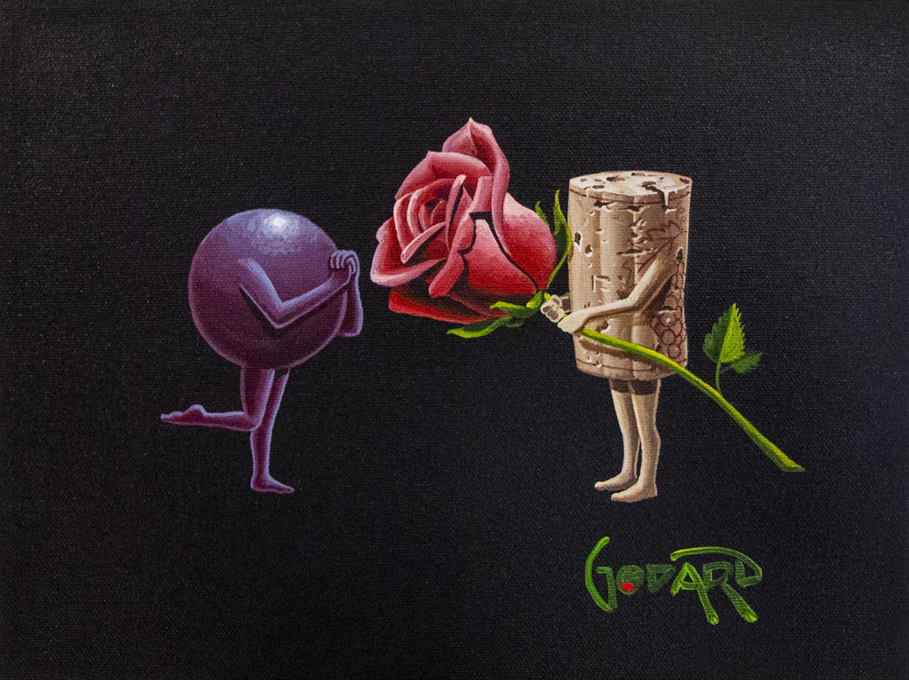A Rose for my Rose by Michael Godard