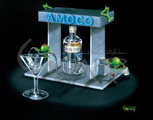 Amoco by Michael Godard