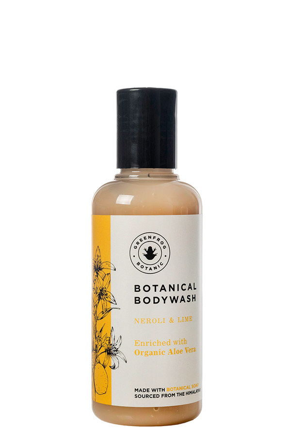 Natural Travel Bodywash - Neroli & Lime 100ml