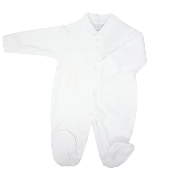 White Rabbit & Star Premature Baby Sleepsuit