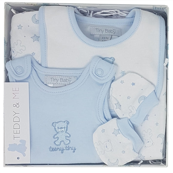 Teeny Tiny 4 Piece Memory Box Hamper - Sky