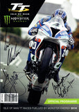 2016 Isle of Man TT Multi Signed Programme (1)