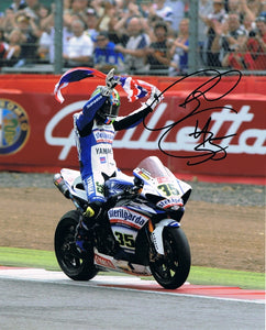 Cal Crutchlow - World Superbikes - 16 x 12 Autographed Picture
