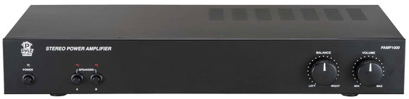 Pyle PAMP1000 160 Watt Home Stereo Power Amplifier