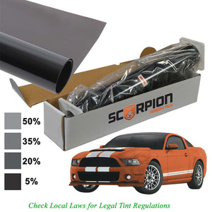 "Scorpion DS35B40 Window Tint Desert Series 2 ply 35% 40""x 100' roll 2 ply Extruded Dye"