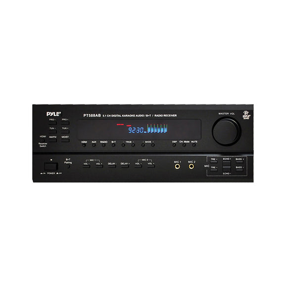 Pyle PT588AB 5.1 Channel AM/FM Receiver w/ Bluetooth