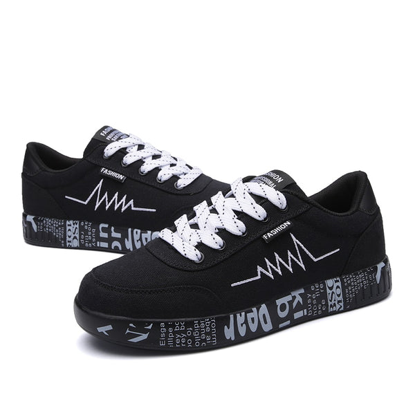 Breathable Walking Canvas Graffiti Shoes Sneakers -  AboutTheSHOES