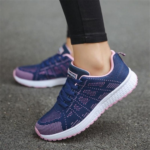 Breathable Walking mesh lace up Shoes sneakers -  AboutTheSHOES