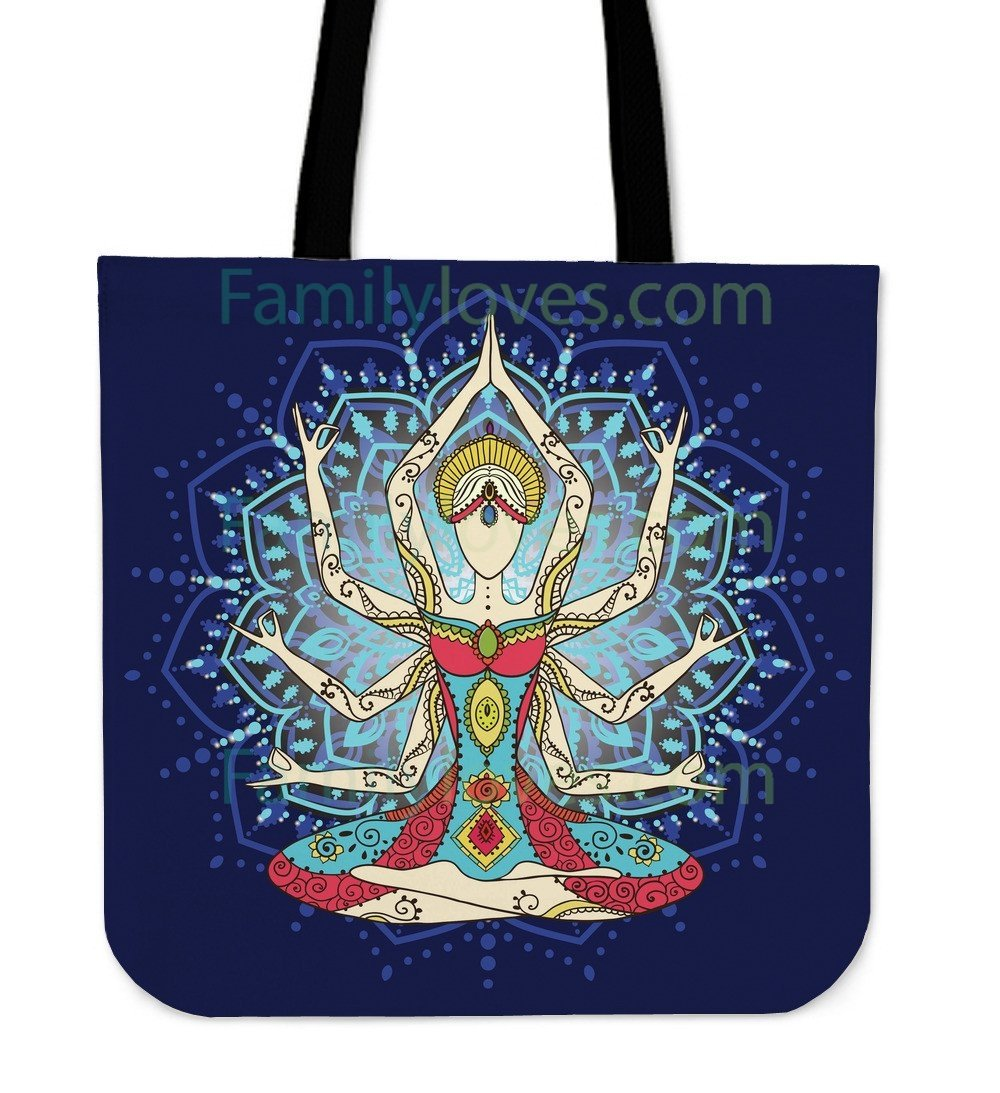 Hatha Yoga Tote Bags For Women