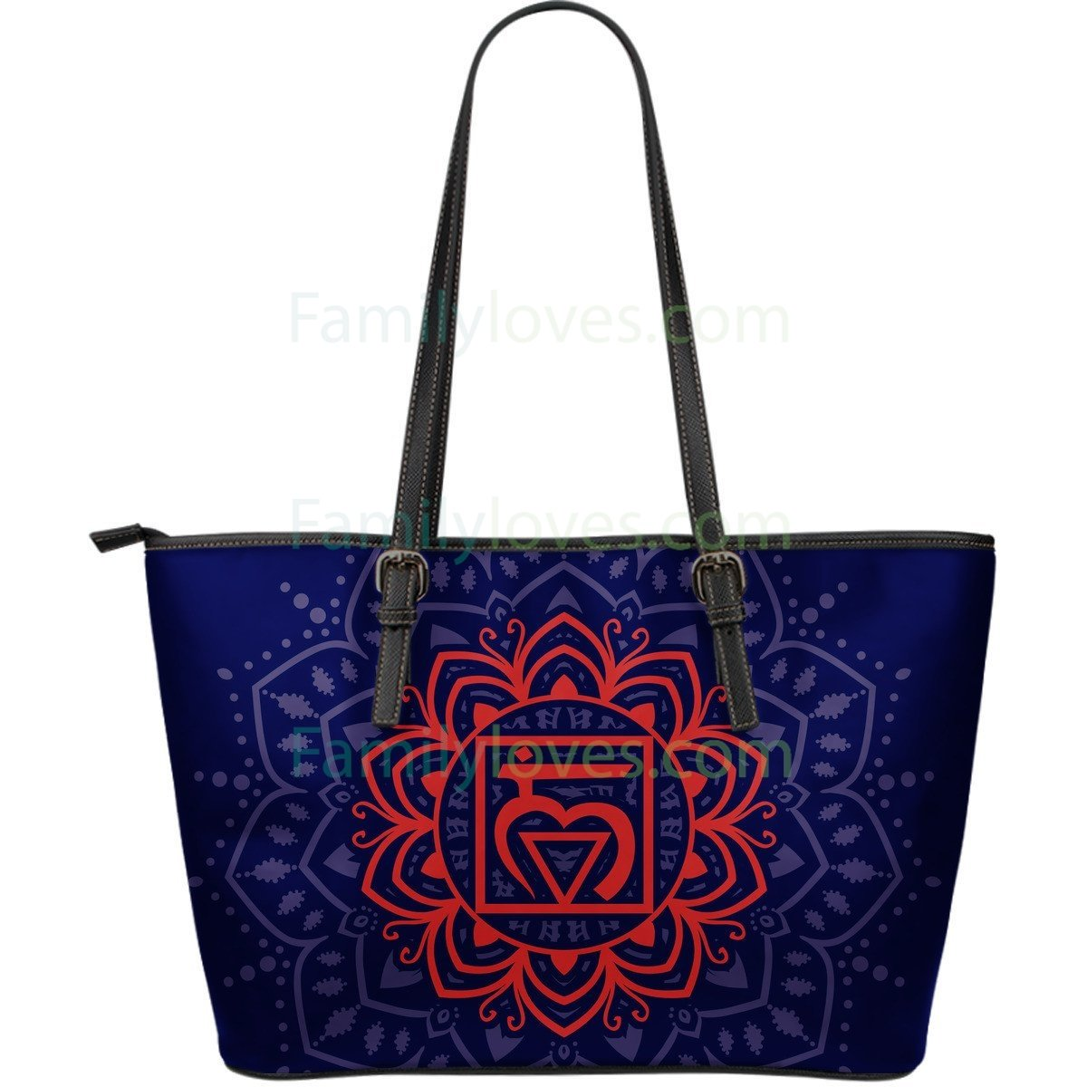 Buy Yoga Large Leather Bag - Familyloves hoodies t-shirt jacket mug cheapest free shipping 50% off