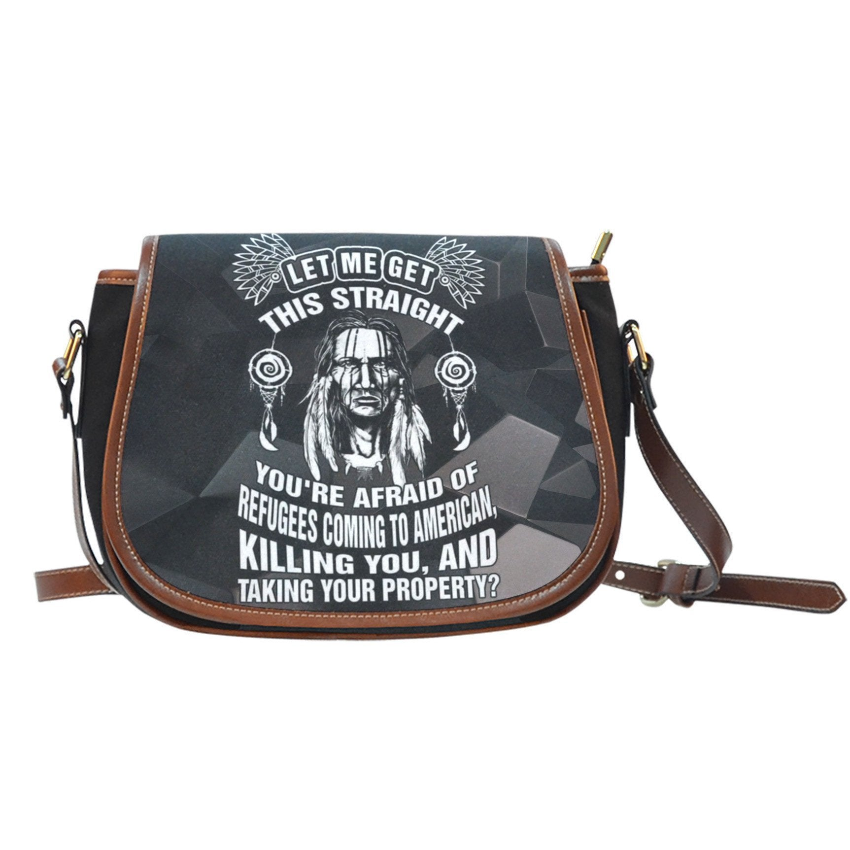 Buy NATIVE AMERICAN  SADDLE BAGS - Familyloves hoodies t-shirt jacket mug cheapest free shipping 50% off