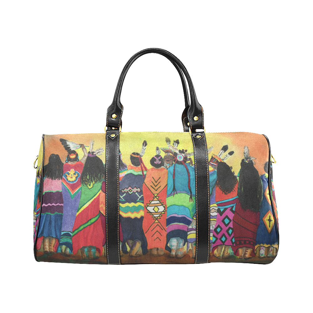 Pow Wow Blanket Dancers travel bag