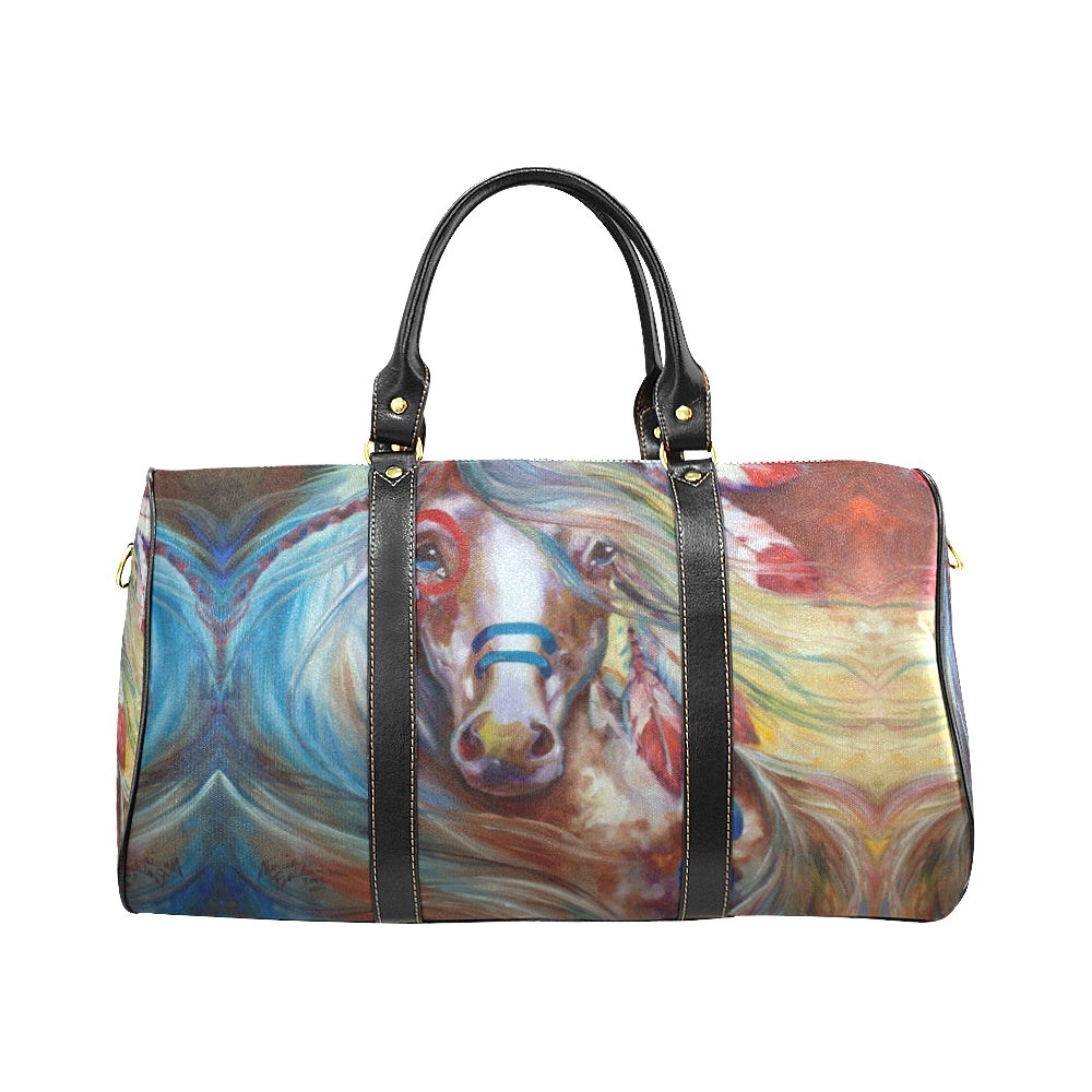 MELUSINEH Horse travel bag