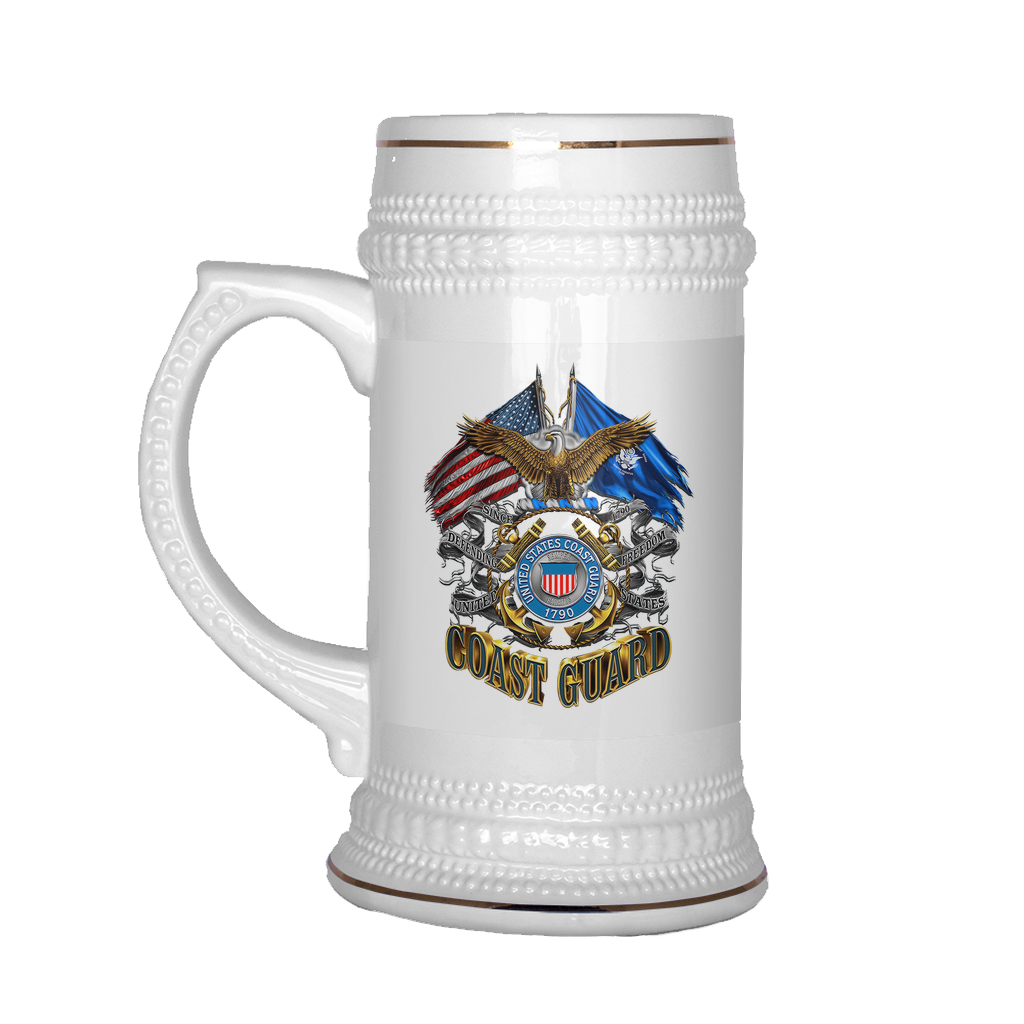 Buy United States Coast Guard 1790 BEER STEIN - Familyloves hoodies t-shirt jacket mug cheapest free shipping 50% off