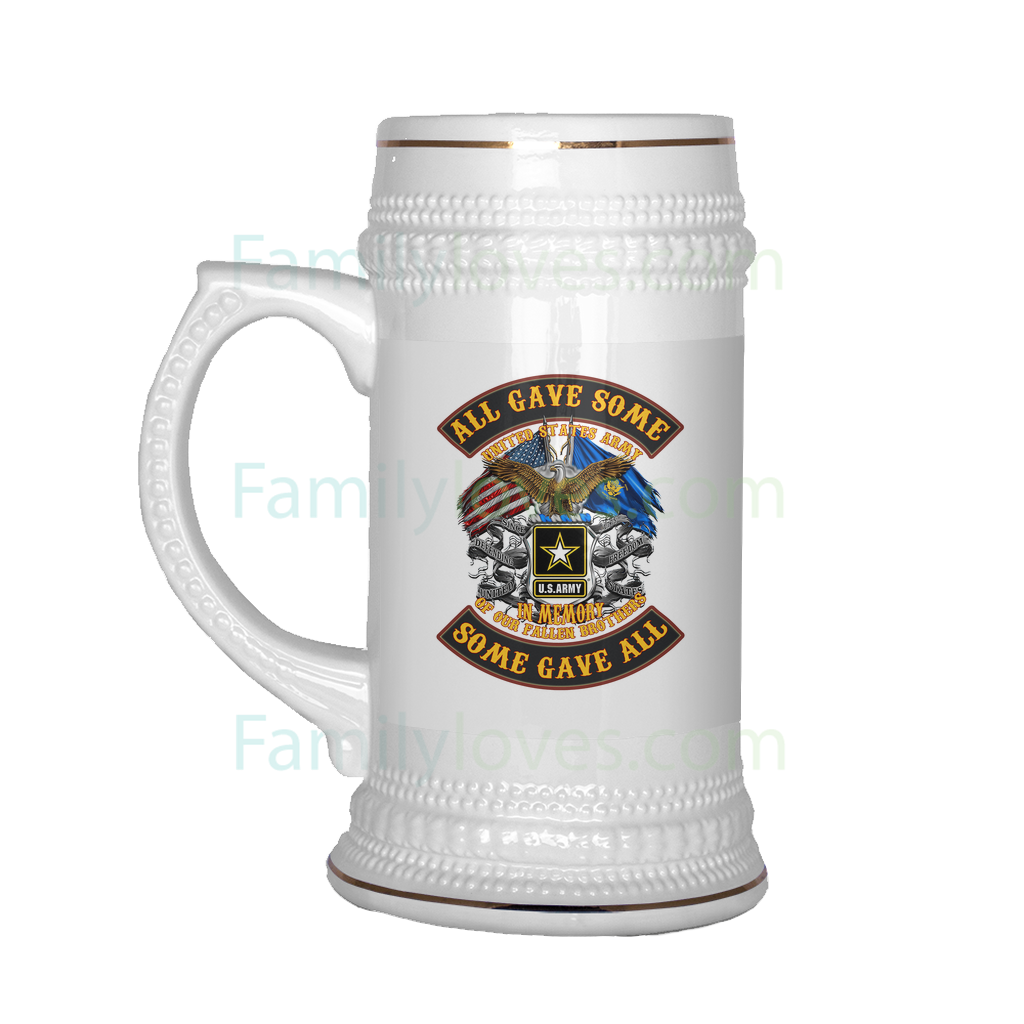 U.S.ARMY ALL GAVE SOME SOME GAVE ALL BEER STEIN