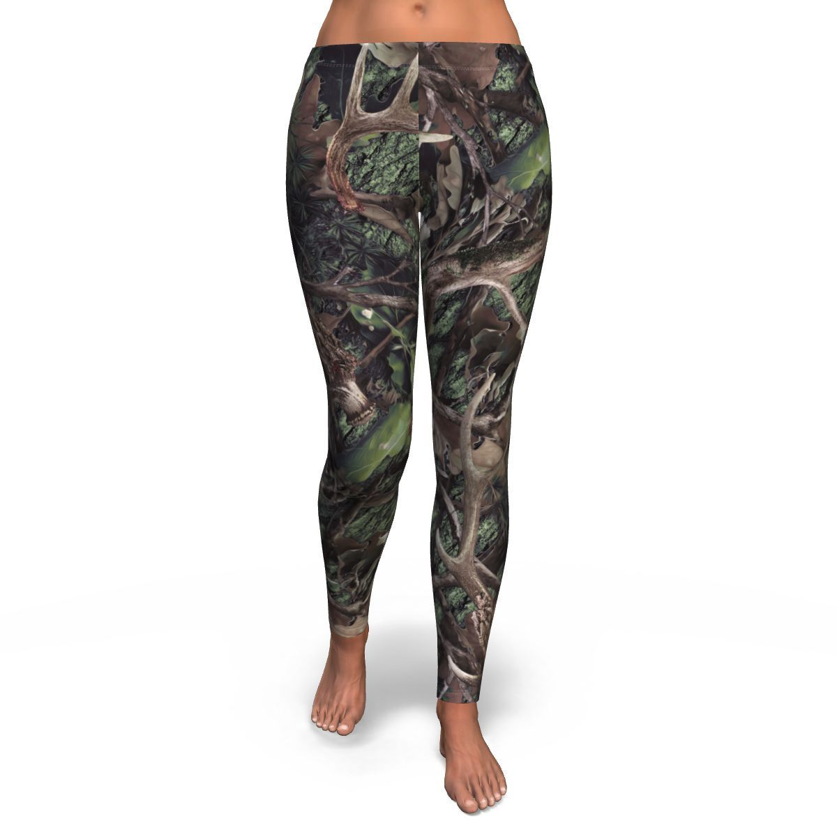 Army Hunting all-over print leggings