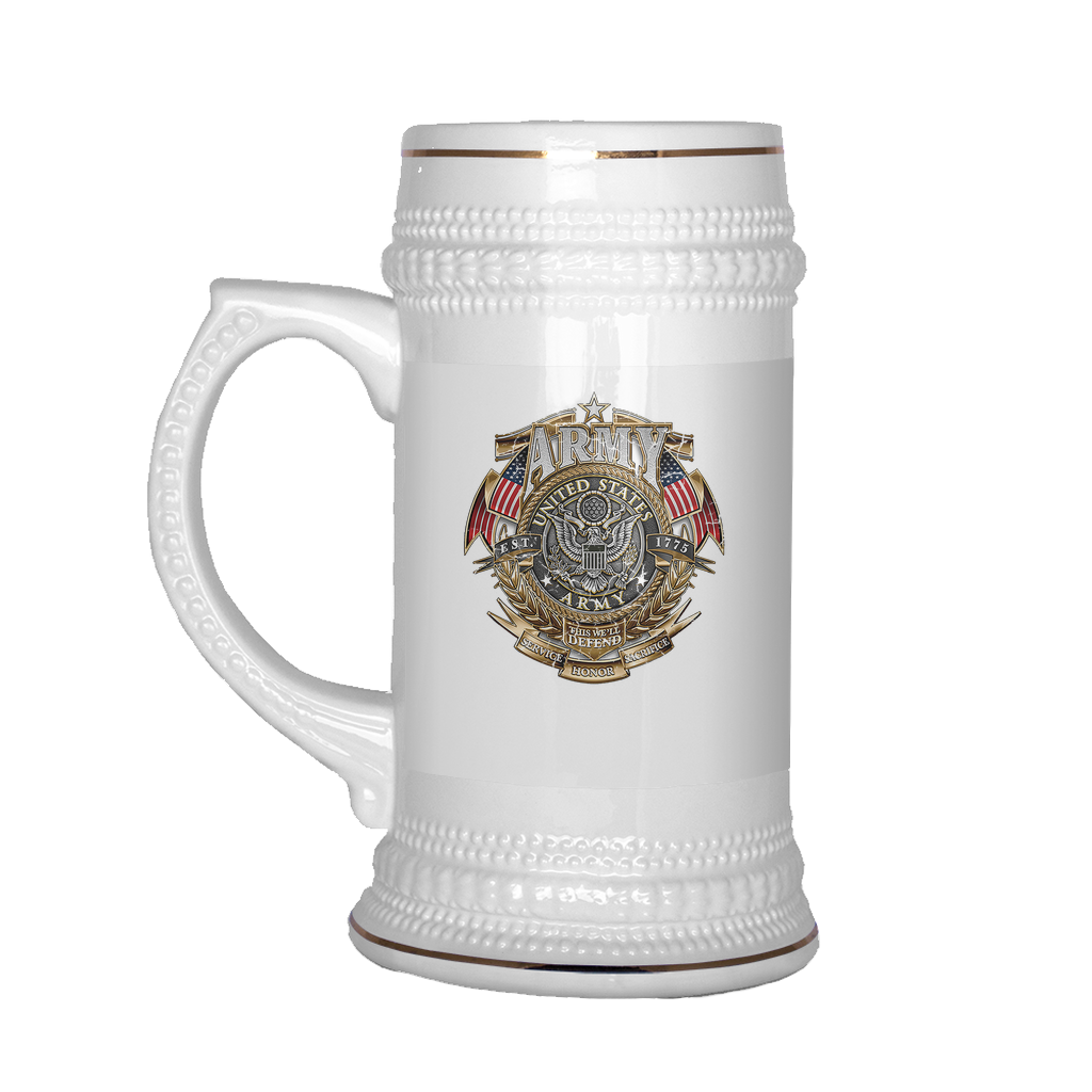 Buy UNITED STATES ARMY 1775 BEER STEIN - Familyloves hoodies t-shirt jacket mug cheapest free shipping 50% off