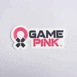Game Pink Sticker