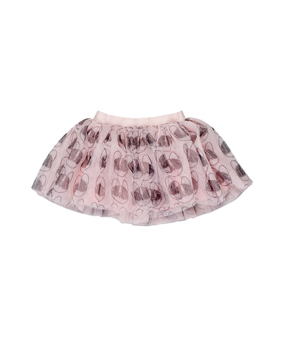 French Shades Tulle Skirt