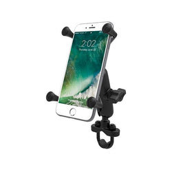 RAM Handlebar U-Bolt Mount with Universal RAM X-Grip Large Phone/Phablet Cradle (RAM-B-149Z-UN10U) - RAM Mount Turkey