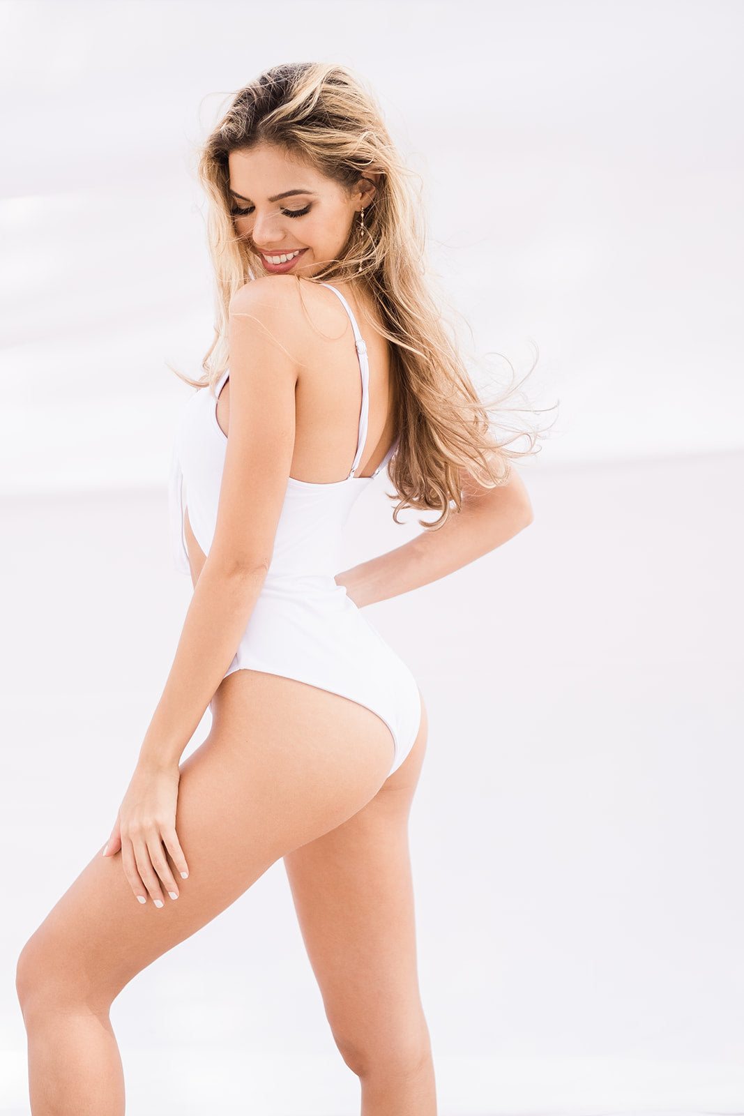 The Malibu One Piece Bathing Suit - The Beach Bride by Chic Parisien, a destination for beach weddings, bachelorettes and honeymoons
