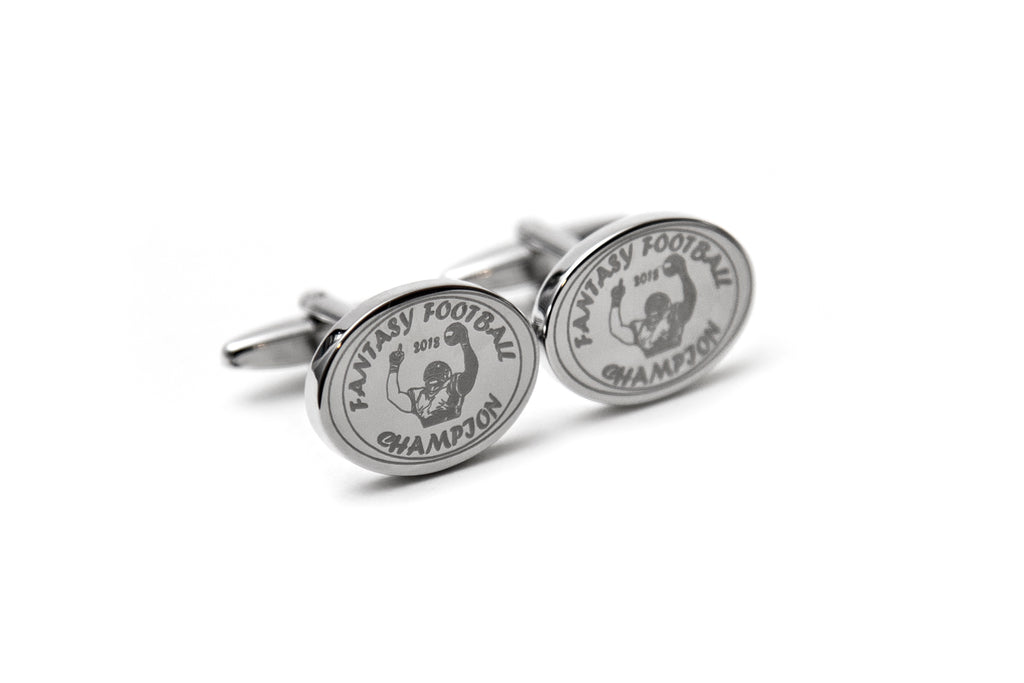 Fantasy Football Champion Cuff Links