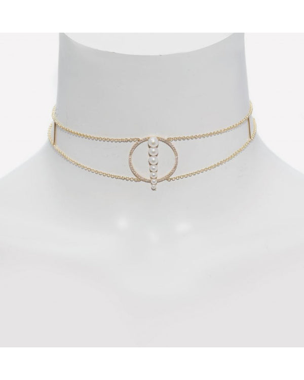 CORNE DE GAZELLE DOREE CHOKER - FAIRYDUST_JEWELRY