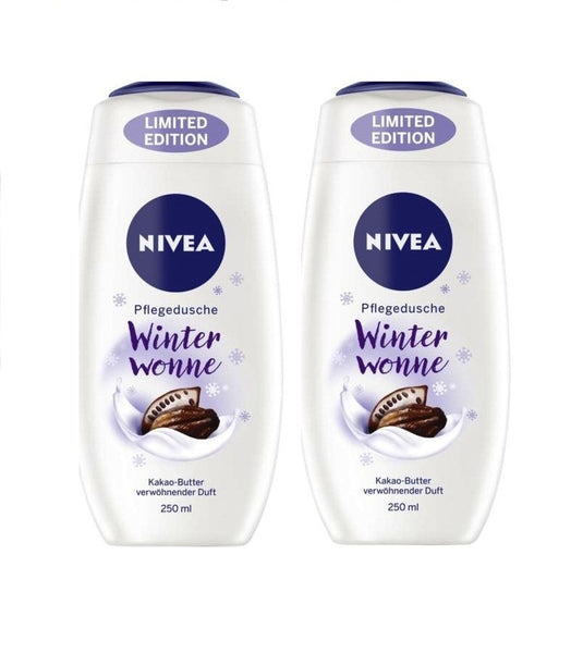 2x NIVEA Nursing Shower Winterwonne (Winter Bliss) 250ml each - Eurodeal.shop