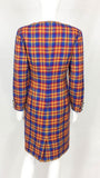 Valentino Unworn Wool Plaid Dress - Early 1990's