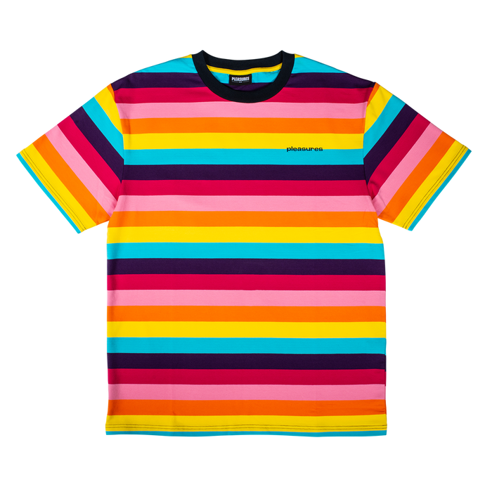Pleasures T-Shirt Inbox Striped Shirt