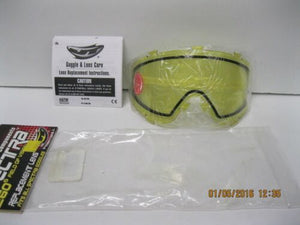 JT Paintball Spectra Mask Replacement Lens Thermal YELLOW