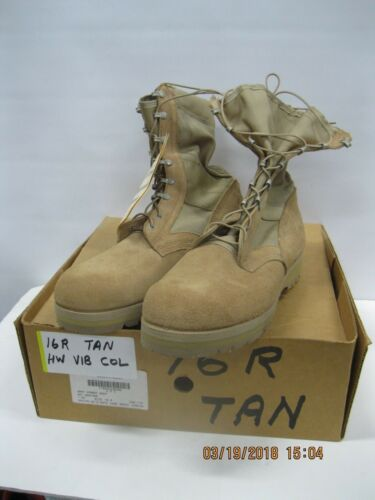 WELCO Hot Weather ARMY COMBAT BOOT 16R *Combo Sole
