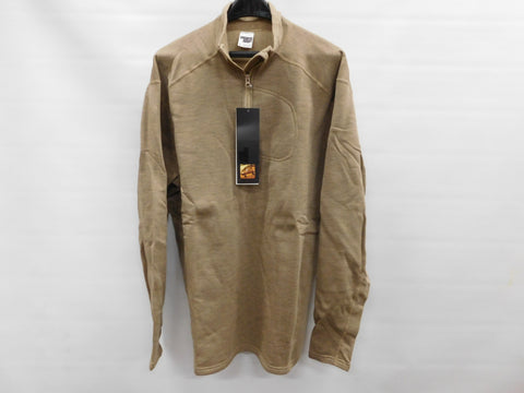 MASSIF Flame Stretch Pull Over Long Sleeve Shirt XL FR Flame Resistant